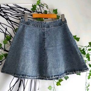 2/15$ Acid Wash skirt